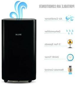 Della 14000 BTU Portable Air Conditioner Fan Cooling Dehumid