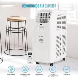 DELLA 8,000 BTU 115V Portable Air Conditioner W/ Remote For