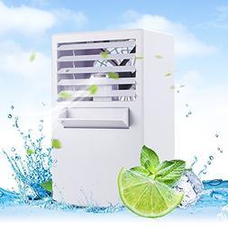 LUCKSTAR Desktop Air Conditioning Fan - Quiet Personal Mini
