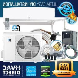 DIY Mini-Split Air Conditioner Heat Pump, Complete Install K