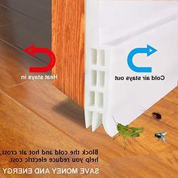 BULLKEYS Door Bottom Seal Strip Energy & Money Saving in Hot