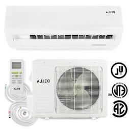 DELLA Ductless Mini Split Heat Pump Air Conditioner 9,000 BT