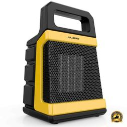 Electric Garage Heater Portable Indoor Compact Quiet Space S