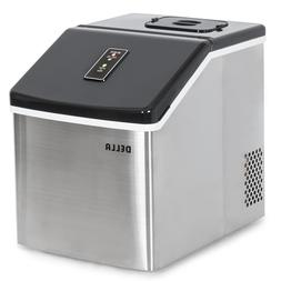 Della© Electric Ice Maker Machine Portable Counter Top