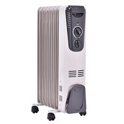 Tangkula Electric Oil Heater, 1500W Home Office Bathroom Por