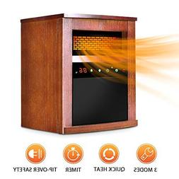 Air Choice Electric Space Heater 1500W Portable Infrared wit
