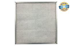 22x24x1 Electrostatic Washable Permanent A/C Silver Steel Fr