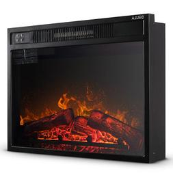 embedded fireplace electric insert heater