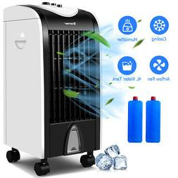 evaporative portable air conditioner cooler fan humidify