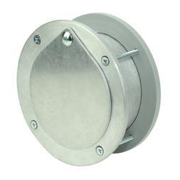 EXHAUST PORT - FOR GARAGE DOORS / WALLS -  FRESH AIR VENT -