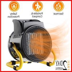 PROWARM Fan Forced Ceramic Portable Electric Heater with Adj