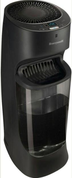Honeywell Top Fill Digital Humidistat Tower Humidifier, Blac