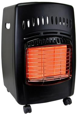 Gas Portable Heater 18K BTU Propane Cabinet Durable Locking