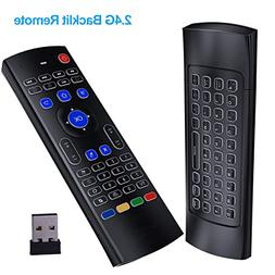 Globtronic , 2.4G Backlit MX3 pro  remote keyboard with 3-Gy