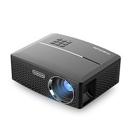 VisualGreat GP80 Projector, Portable Size Top Game Video Ent