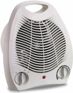 New Optimus H-1322 Portable 2-Speed Fan Heater with Thermost