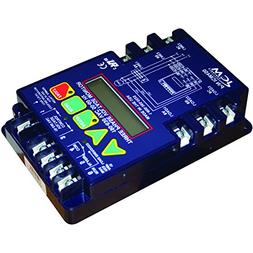 ICM Controls ICM450 3-Phase Monitor, 25-Fault Memory, LCD Se