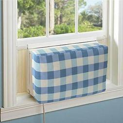 Jeacent Indoor Air Conditioner Cover Double Insulation Blue