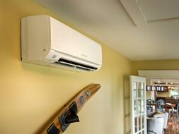 FRIEDRICH Indoor Ductless Heat Pump Air Conditioner With 4 S