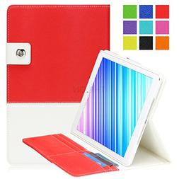 Ipad Air Case, Ipad 5 Case, Thilon Hybrid PU leather Case Co