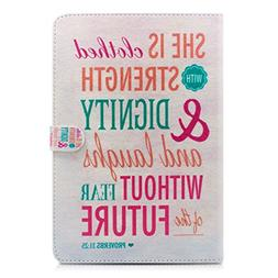 iPad Air Case, Milocos    - 31:25 Quotes Mart Folio Wake Sle