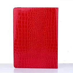 iPad Pro Case, Gift_Source Brand  Crocodile PU Leather 360 D