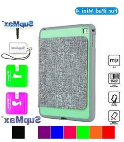 iPad Mini 4 Case,Mini 4 Camo Cover,SupMax™ *PU+PC* High Im