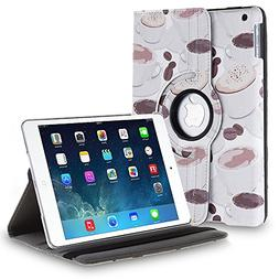 TNP iPad Mini Rotating Case  360 Degree Stand Smart Cover Fl