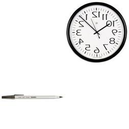 KITUNV11641UNV27410 - Value Kit - Universal Round Wall Clock