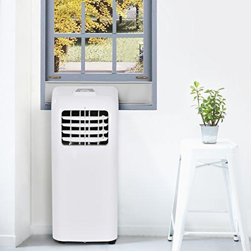 COSTWAY Portable Air with Dehumidifier Function