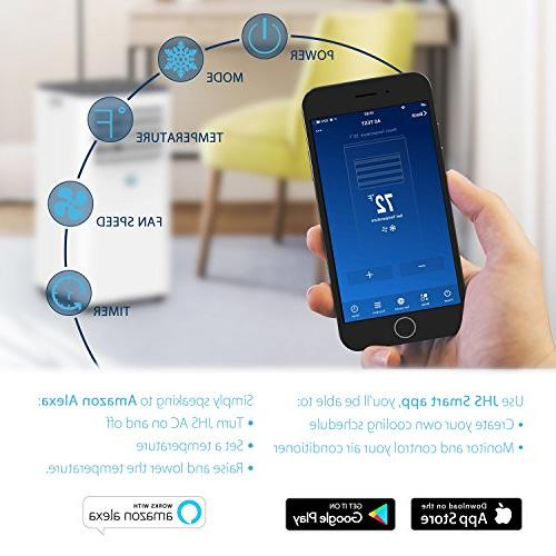 JHS 10,000 Air Remote Control with Mobile App, A016-10KR/B1 Small Air with Sleep and