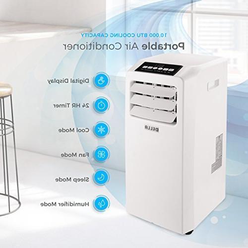 DELLA Conditioner Fan 10000 BTU Portable Dehumidifier Included White