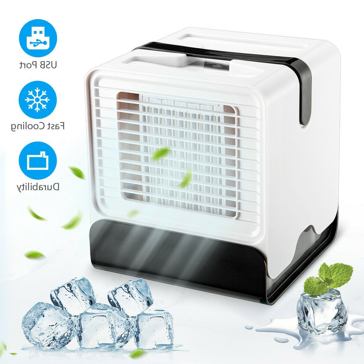 Mini Portable Air Conditioner Personal Unit Water Cooling Fa