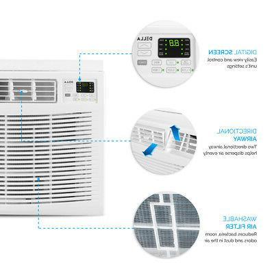 1,000 SQ FT 18,000 Energy Window + Remote, 230V