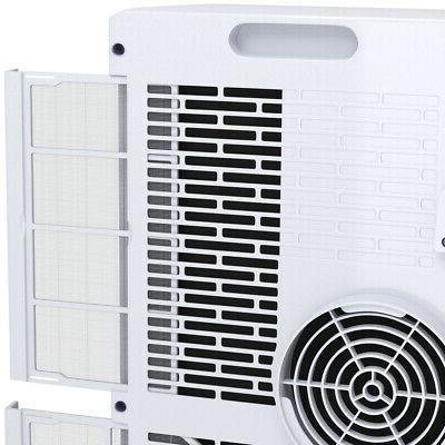 10000 BTU Conditioner Remote Dehumidifier Compact Single