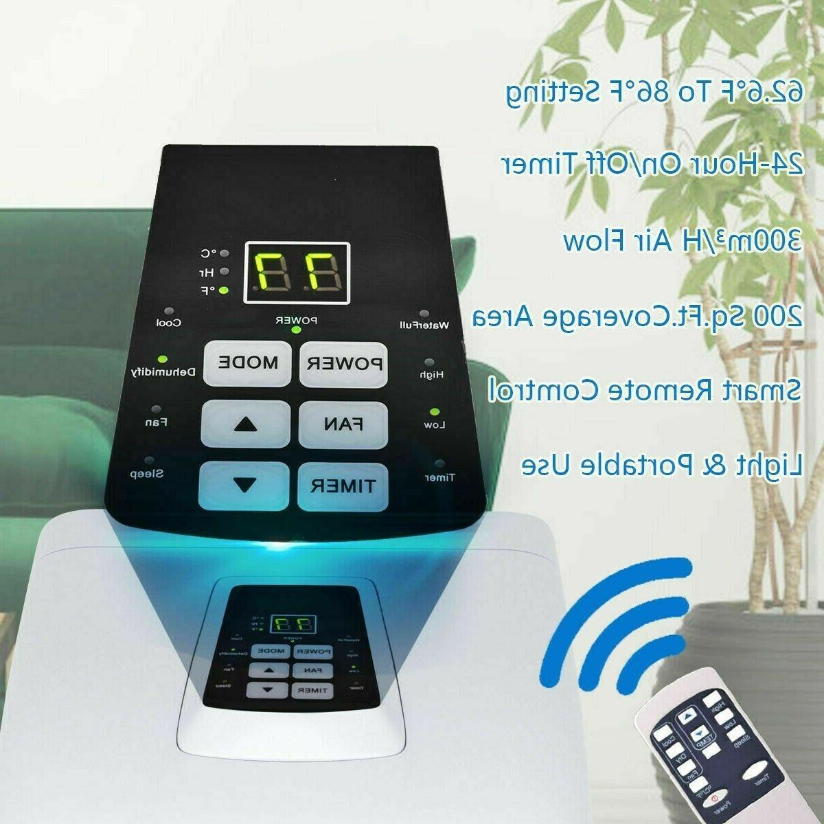 10000 BTU Portable Conditioner Dehumidifier.