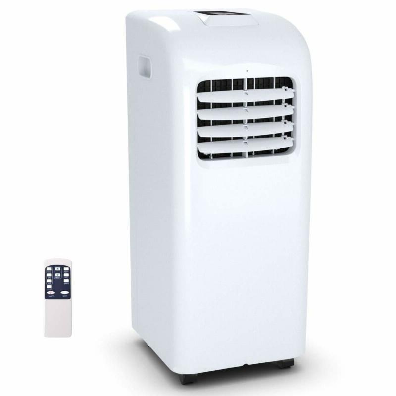 Costway 10000 Btu Portable Air Conditioner With Remote Contr
