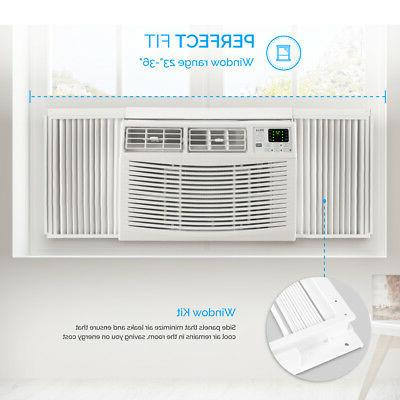 10000 Remote Air Conditioner 450 Feet Washable White