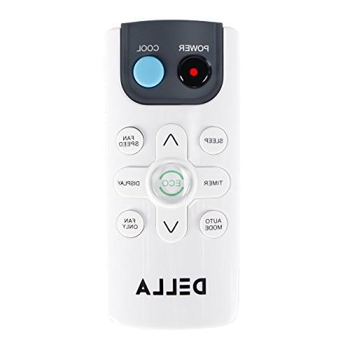 DELLA 10,000 BTU Air Room to 450 115V Star Mini Compact w/Remote