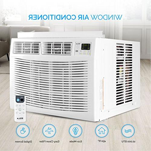 DELLA 10,000 Air Conditioner to Sq 115V Star Mini Compact