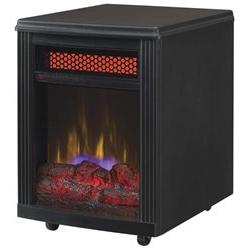 DuraFlame 10IF9239BLK Black Electric Office Room Space Area