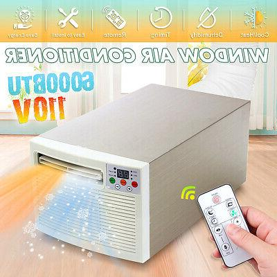 110v 6000btu 1400w window mount air conditioner