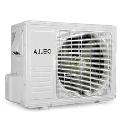 DELLA 12,000 SEER Air Conditioner 115V Heat Fan Unit