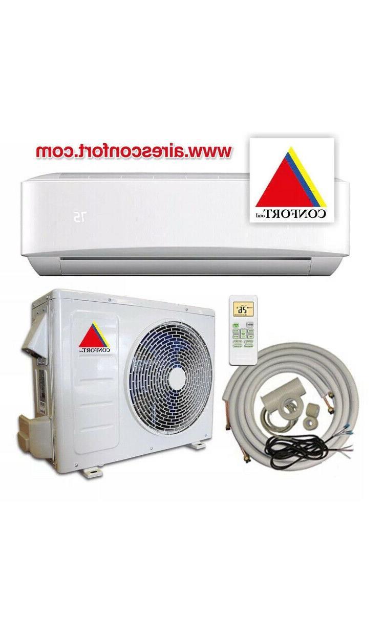 12,000 Air Conditioner,Heat Pump split 110V w/kit