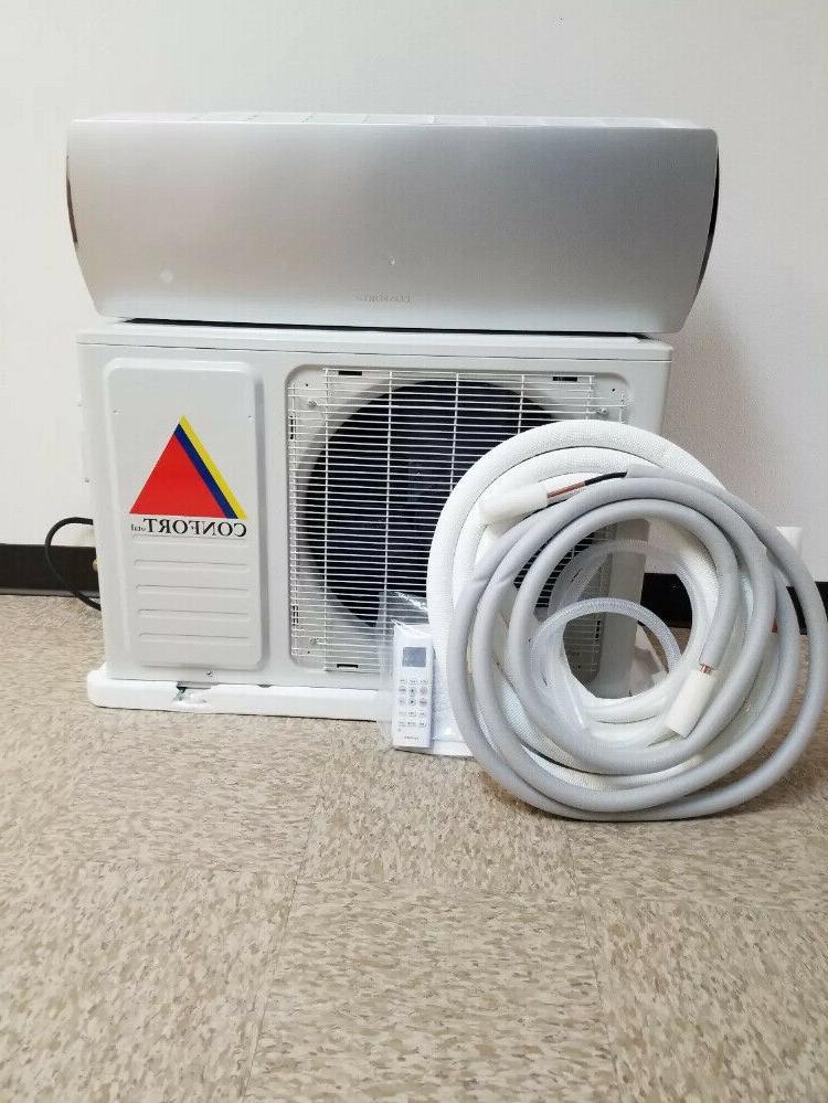 12,000 Ductless Air Conditioner,Heat Mini split 1 w/kit