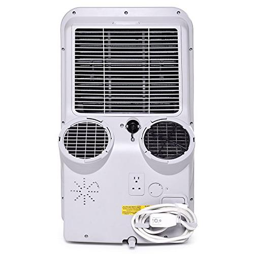 Ivation Air Conditioner AC & Dehumidifier w/Digital LED Multi-Mode Function – 450 Coverage