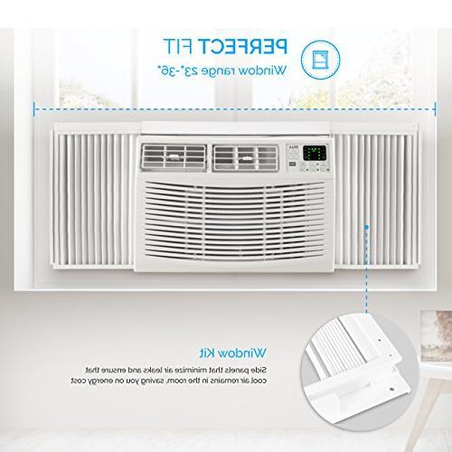 Air Conditioner to 450 Sq 115V Energy Mini Compact w/Remote White