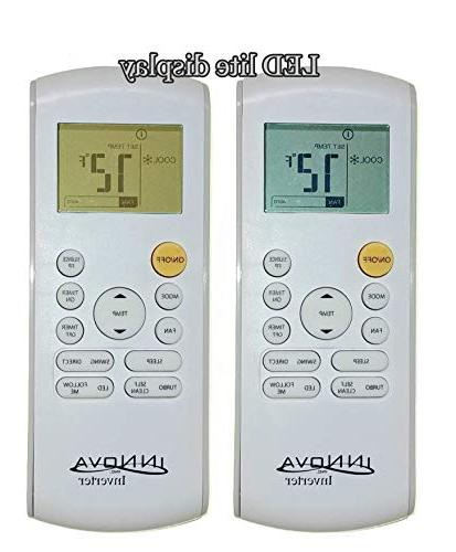 Innova BTU Mini-Split Conditioner Inverter SEER Cooling & – Dehumidifier 115v/60hz Pre Charged Ultra Feet Set Accessories