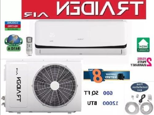 12000 btu ductless air conditioner heat pump