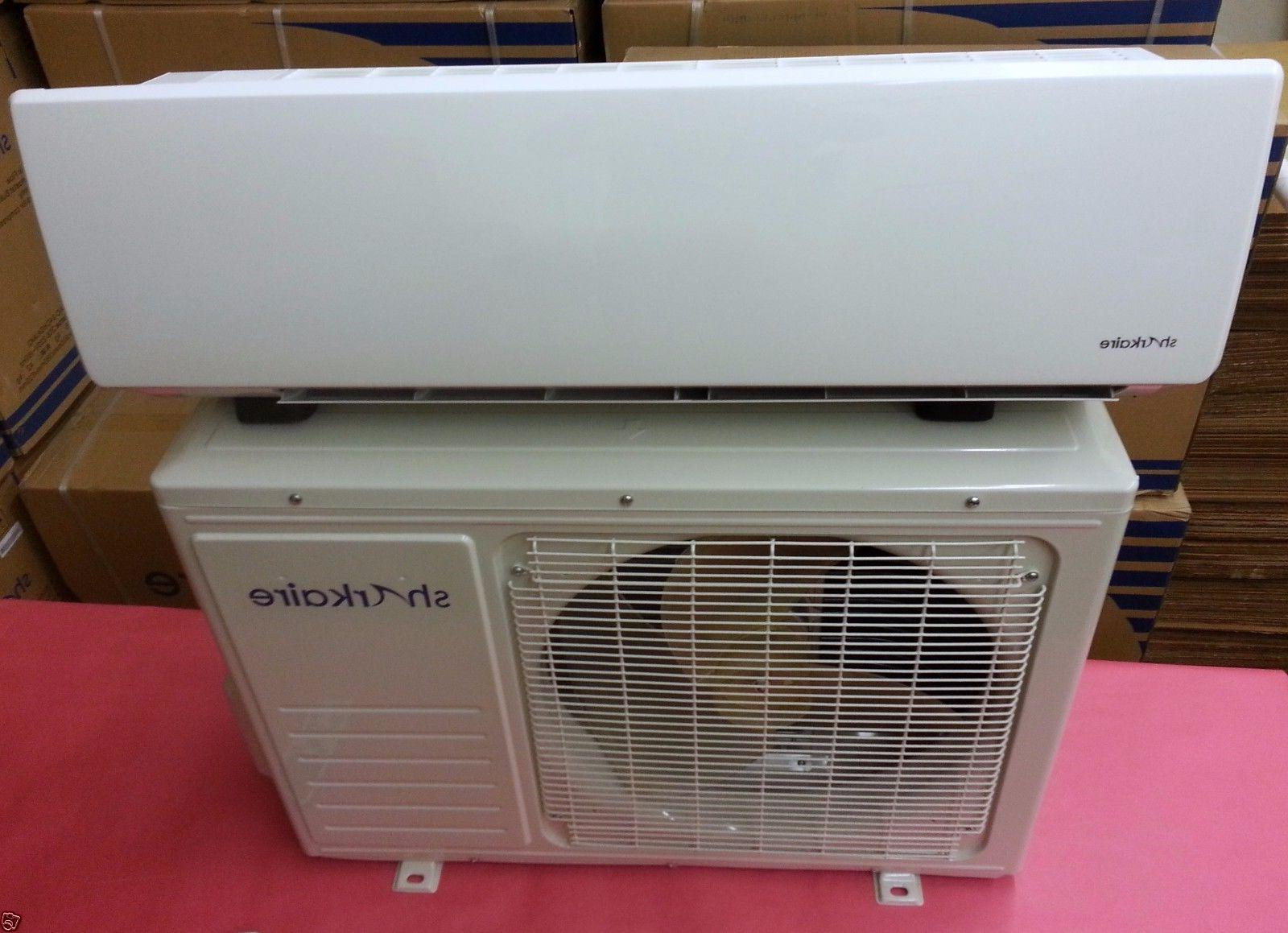12000 Ductless Conditioner, 1 Ton Heat Pump, Smart Remote
